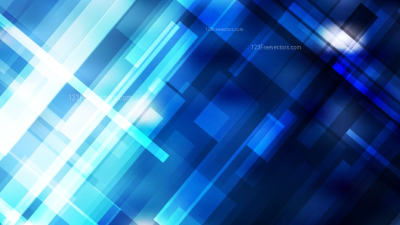 Blue Black and White Modern Geometric Background
