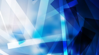 Abstract Blue Black and White Modern Geometric Background Illustrator