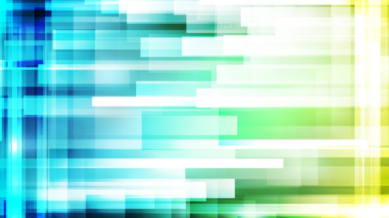 Geometric Abstract Blue Green and White Background Vector Graphic
