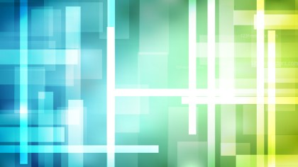 Abstract Blue Green and White Modern Geometric Shapes Background Design