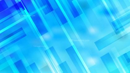 Bright Blue Geometric Shapes Background Illustrator