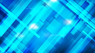 Abstract Geometric Bright Blue Background
