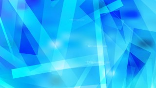 Bright Blue Geometric Abstract Background