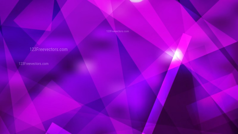 Abstract Geometric Bright Purple Background