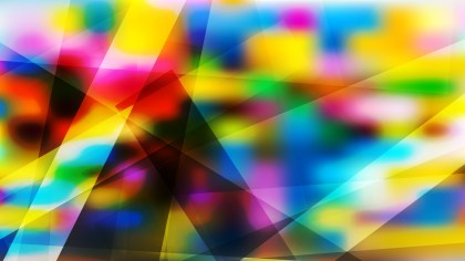 Abstract Colorful Modern Geometric Background