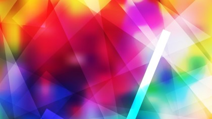 Abstract Geometric Colorful Background Image