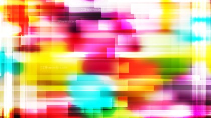 Geometric Abstract Colorful Background Vector Graphic
