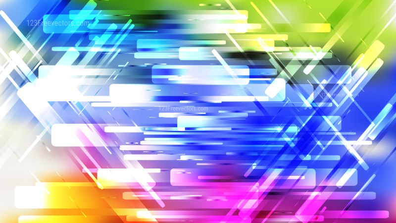 Colorful Geometric Abstract Background Vector Image