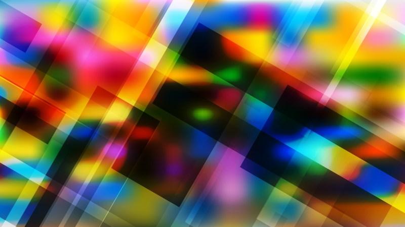 Colorful Geometric Background Illustrator