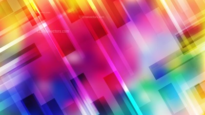 Geometric Abstract Colorful Background Vector