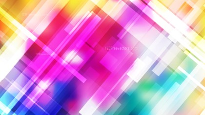 Abstract Colorful Modern Geometric Shapes Background