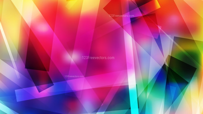 Colorful Lines Stripes and Shapes Background