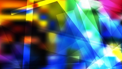 Abstract Cool Modern Geometric Shapes Background