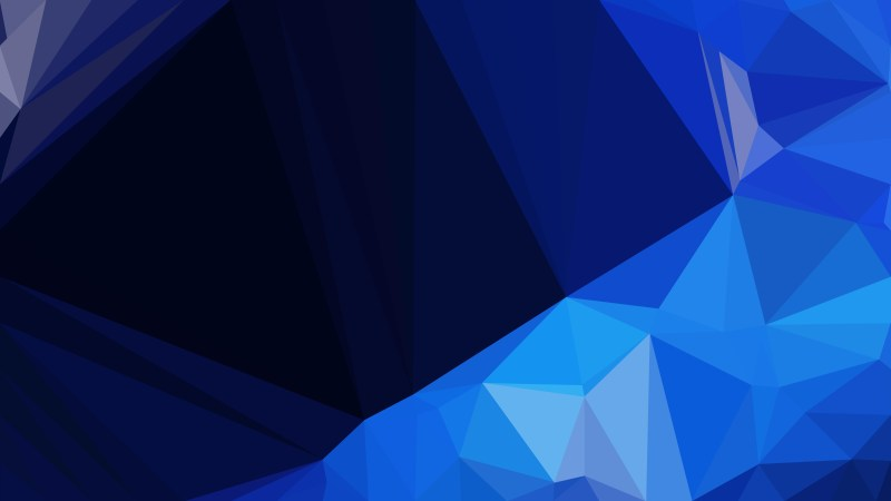 Cool Blue Geometric Shapes Background