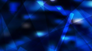 Abstract Geometric Cool Blue Background