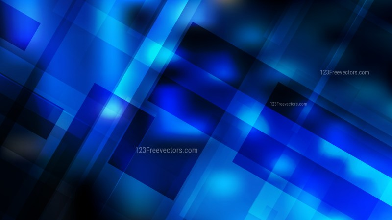 Cool Blue Geometric Abstract Background