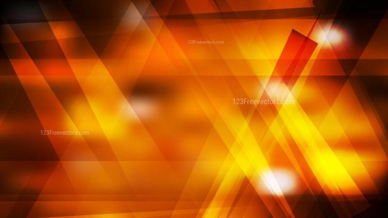 Cool Orange Geometric Abstract Background Image