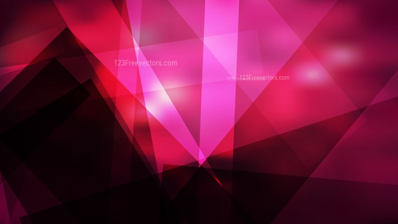 Abstract Cool Pink Modern Geometric Background Vector Graphic