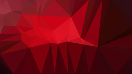 Cool Red Geometric Background Vector