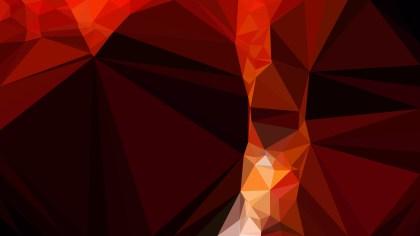 Cool Red Modern Geometric Background Vector Art