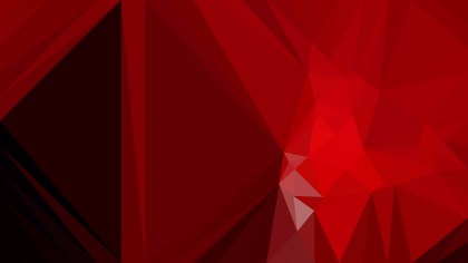 Geometric Abstract Cool Red Background Design