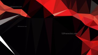 Cool Red Geometric Abstract Background