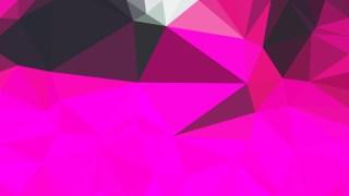 Abstract Fuchsia Geometric Background Image