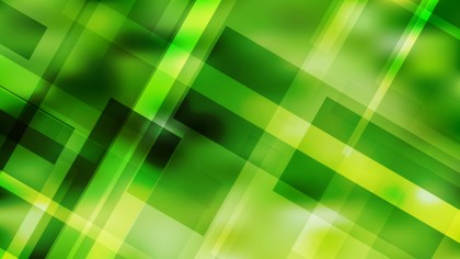 Green Lines Stripes and Shapes Background Vector Graphic