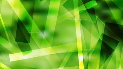 Green Geometric Abstract Background