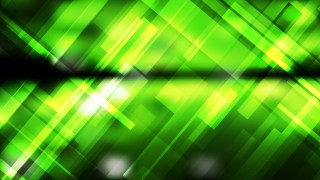 Abstract Green and Black Geometric Background Vector Image