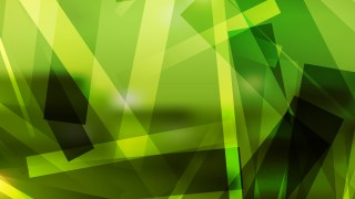 Abstract Geometric Green and Black Background