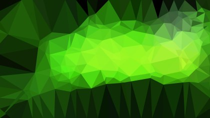 Abstract Geometric Green and Black Background Vector Illustration