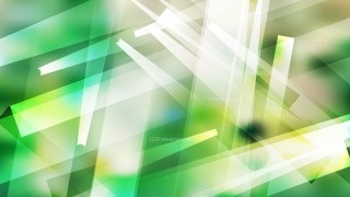 Green and White Modern Geometric Shapes Background