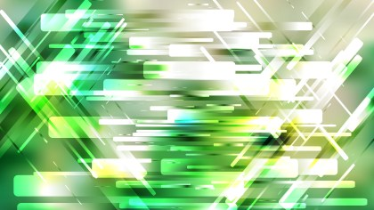 Green and White Modern Geometric Background