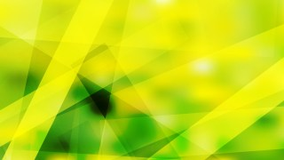 Geometric Abstract Green and Yellow Background Graphic