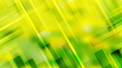 Abstract Green and Yellow Geometric Background Vector Illustration