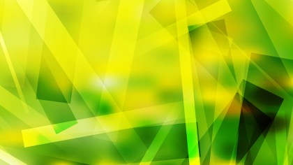 Green and Yellow Modern Geometric Shapes Background Image