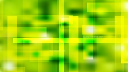 Abstract Green and Yellow Geometric Background