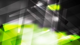 Abstract Green Black and White Lines Stripes and Shapes Background Vector Image