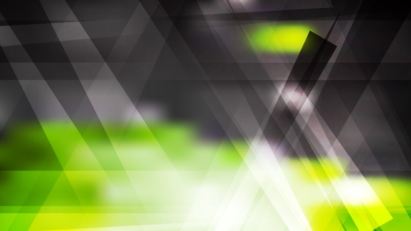 Green Black and White Geometric Abstract Background Illustration