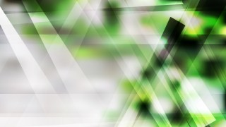Green Black and White Geometric Background Design
