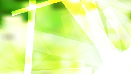 Green Yellow and White Geometric Background