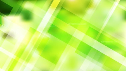 Green Yellow and White Modern Geometric Shapes Background Vector Illustration