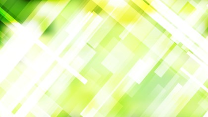 Abstract Green Yellow and White Modern Geometric Shapes Background Vector Graphic