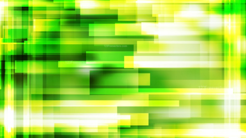 Abstract Green Yellow and White Geometric Shapes Background Image