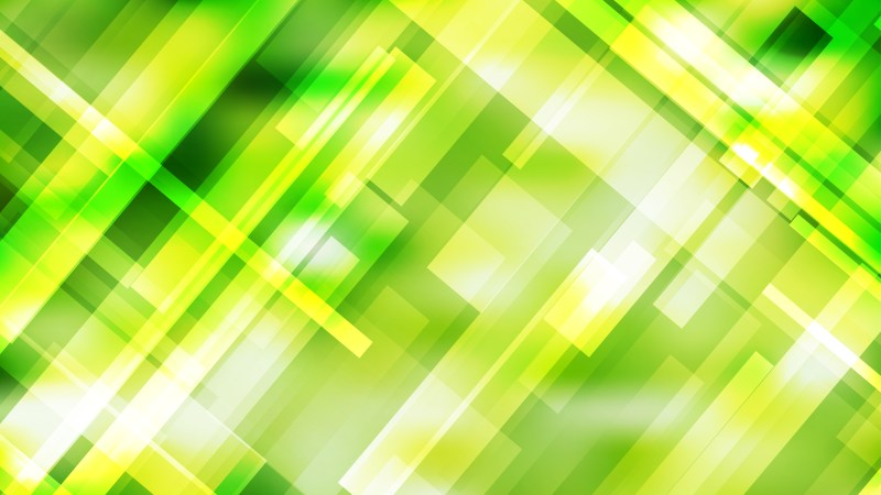 Green Yellow and White Geometric Abstract Background