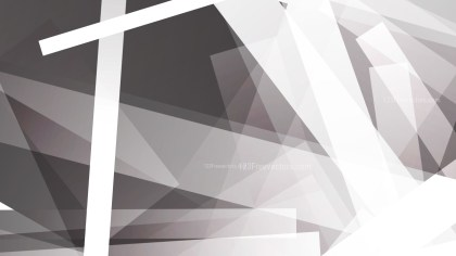 Abstract Grey and White Modern Geometric Background Design