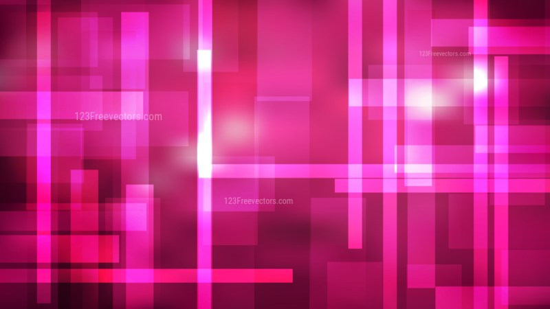 Hot Pink Geometric Background Illustrator