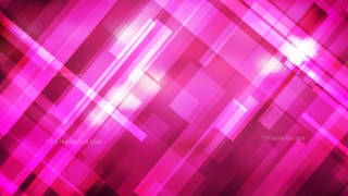 Abstract Geometric Hot Pink Background