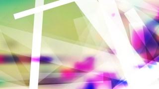 Light Color Modern Geometric Shapes Background